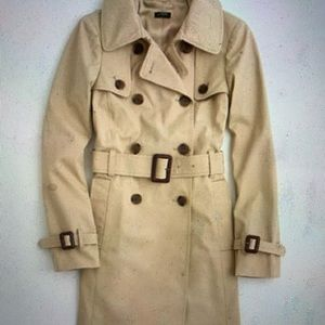 J Crew Factory Trench Coat